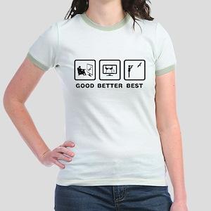 Bird Watching Jr. Ringer T-Shirt