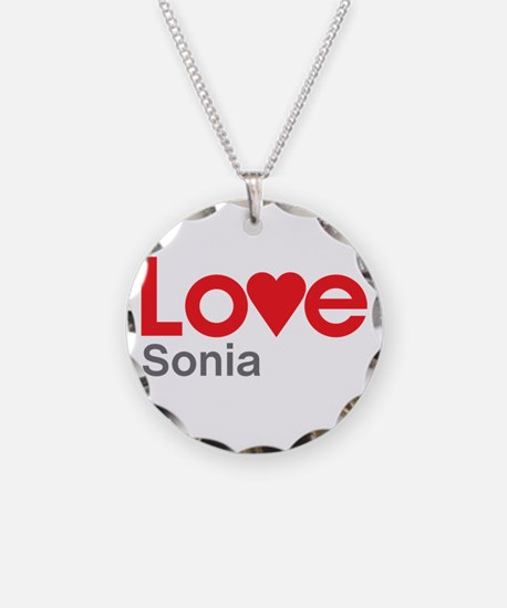 I Love Sonia Necklace