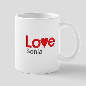 I Love Sonia Mug