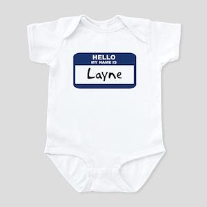 Hello: Layne Infant Bodysuit