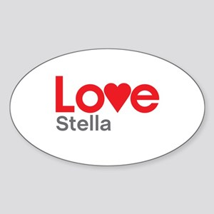 I Love Stella Sticker