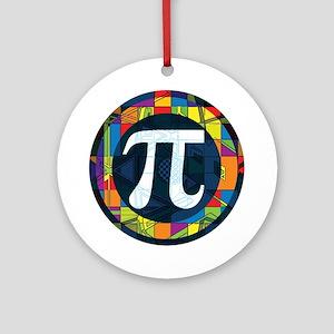 Pi Symbol 2 Ornament (Round)