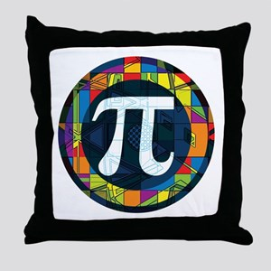 Pi Symbol 2 Throw Pillow