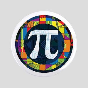"Pi Symbol 2 3.5"" Button"
