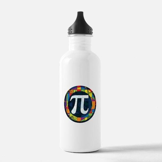 Pi Symbol 2 Water Bottle