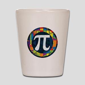 Pi Symbol 2 Shot Glass