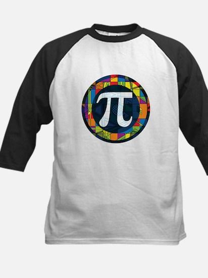 Pi Symbol 2 Kids Baseball Jersey