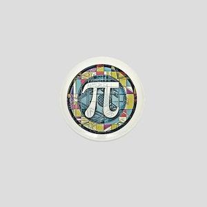 Pi Symbol 3 Mini Button