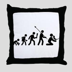 Iguana Lover Throw Pillow