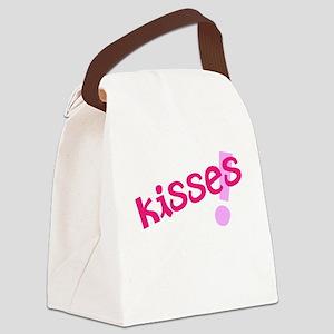 Kisses Canvas Lunch Bag
