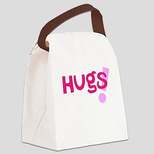 Hugs! Canvas Lunch Bag