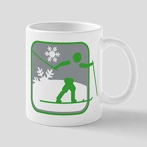 skilanglauf symbol Mug