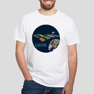 LANDSAT: LDCM White T-Shirt