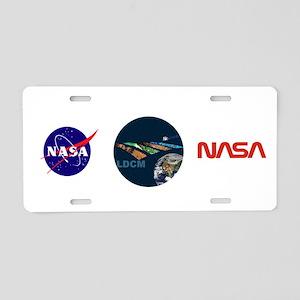 LANDSAT: LDCM Aluminum License Plate