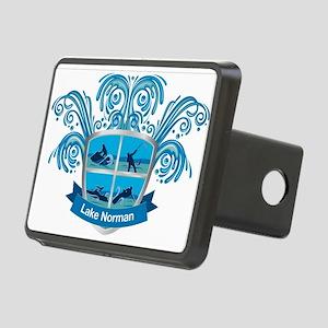 Lake Norman Splash Logo - LKN Hitch Cover