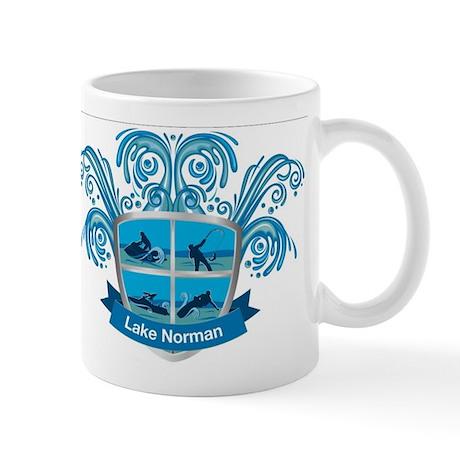 Lake Norman Splash Logo - LKN Mug