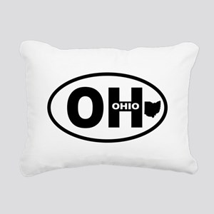 Ohio Rectangular Canvas Pillow