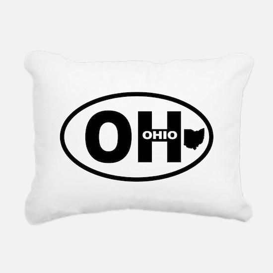 Ohio Rectangular Canvas Pillow