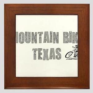Mountain Bike Texas Framed Tile