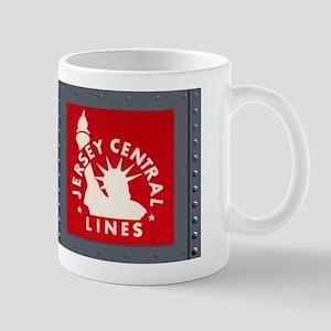 Vintage Frisco Jersey Central Train Panel Mug