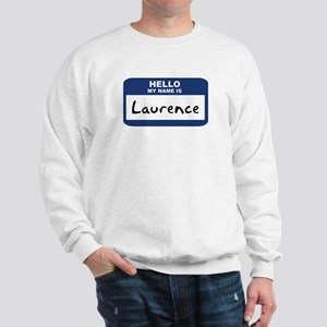 Hello: Laurence Sweatshirt