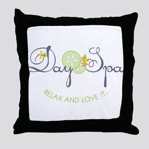 Relax & Love It Throw Pillow