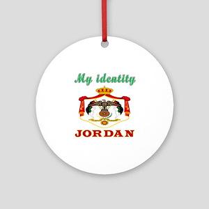 My Identity Jordan Ornament (Round)