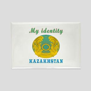 My Identity Kazakhstan Rectangle Magnet