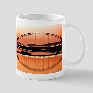 Calatrava's bridge in Merida Mug