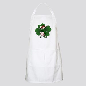 St. Patrick's Pin-Up Girl Lucky Shirts Apron