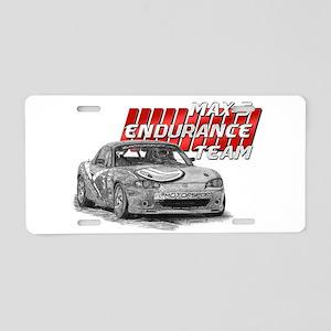 MAX-5 Enduro Team Aluminum License Plate