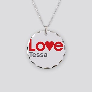 I Love Tessa Necklace