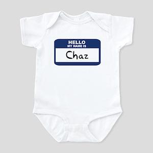 Hello: Chaz Infant Bodysuit