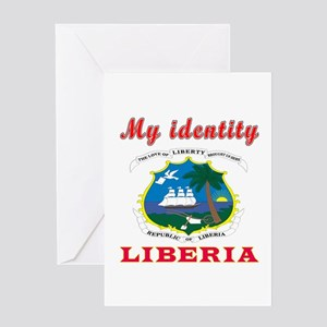 My Identity Liberia Greeting Card