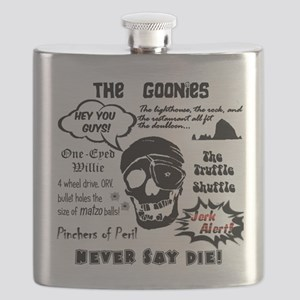 Goonies Sayings Flask