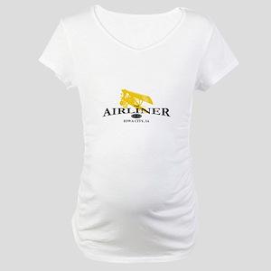 Airliner Logo Maternity T-Shirt