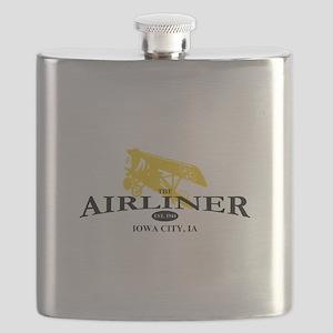 Airliner Logo Flask