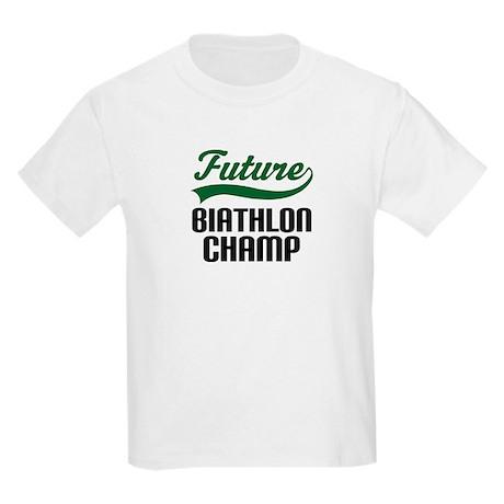 Future Biathlon Champ Kids Light T-Shirt