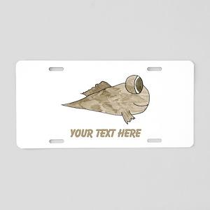 Mudskipper. Add Your Text. Aluminum License Plate