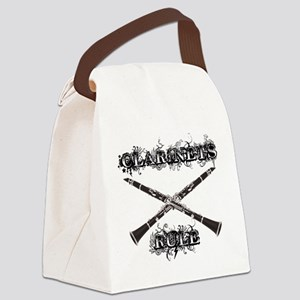 Clarinets Rule Canvas Lunch Bag