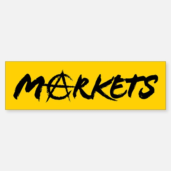 Markets Bumper Bumper Bumper Sticker