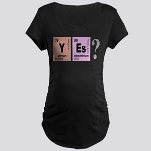 YEs Elements Geeky Maternity T-Shirt