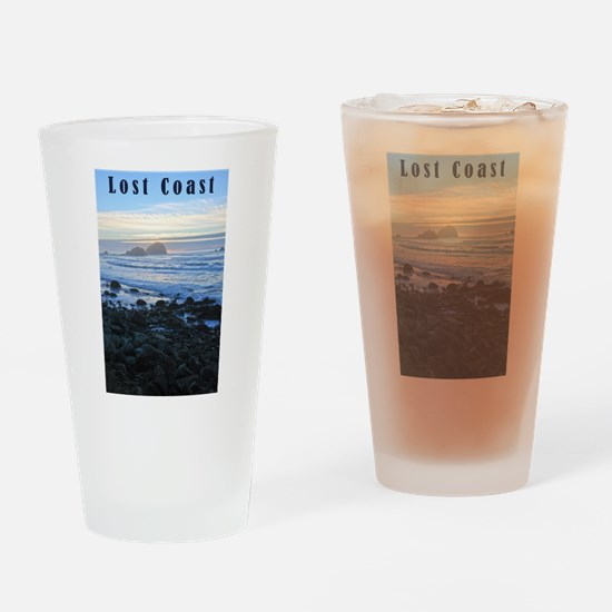 Lost Coast Sunset Drinking Glass