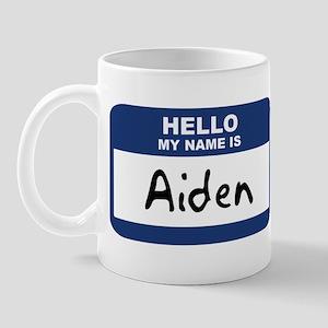 Hello: Aiden Mug