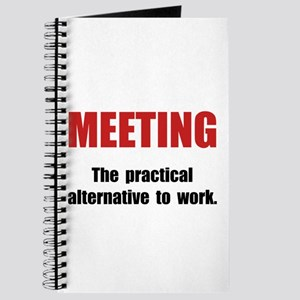 Meeting Work Journal