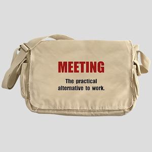 Meeting Work Messenger Bag