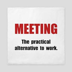 Meeting Work Queen Duvet