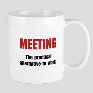 Meeting Work Mug