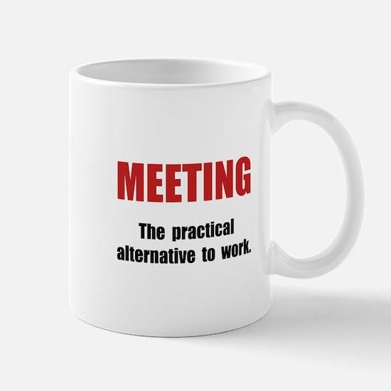 Meeting Work Mug