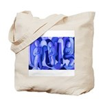 Reflections Blue II Abstract Angels Tote Bag
